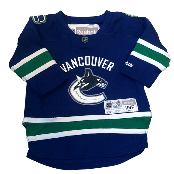 12-24m Vancouver Canucks NHL licensed jersey